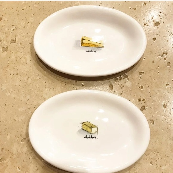 ❗️LAST CHANCE NEW Rae Dunn Cheese Plates Set of 2 & 79% off rae dunn Accessories Last Chance New Cheese Plates Set Of 2 ...